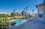master bedroom deck overlooking heavenly yard