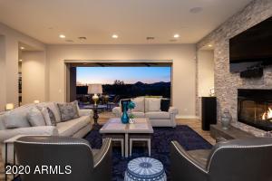 Living Room - Sunset