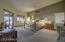 Large Master Suite with his and hers closets