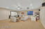 """Basement bonus room with projector and 120"""" screen"""