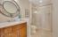 Full bath near guest quarters