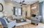 Living Room w/ fireplace
