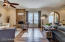 Formal Living & Family Room - custom shades w/ remote control