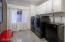 Huge laundry room