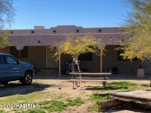 This Manufactured home has a permitted front Santa Fe Style