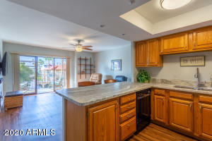 Plenty of upgrades in the lovely 1BR/1BA condo including counter tops, lighting, flooring, paint and so much more!