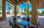 View of Pool and Lush Backyard