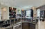 Custom Wet Bar (with Wine Refrigerator and Sink)