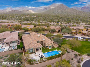 Situated in the Guard-Gated Windgate Ranch Community and close to the McDowell Mountain Preserve Trailhead