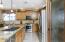 Kitchen with Custom Pantry Door