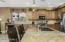 Kitchen with Large Center Island and Breakfast Bar