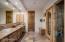 Saunas & bath off Family room