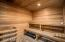 Another separate Dry sauna