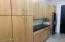Tons of built-in cabinets in Butler's Pantry/Laundry Room!