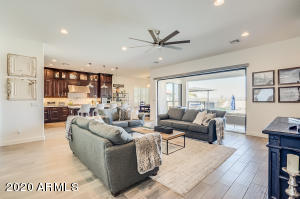 Great room / open design makes the living space very friendly for every day living while also offering a fabulous space for entertaining friends, work colleges or family.