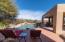 Pool overlooking Heart Rock and Desert Mountain