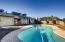 Cool off in deep, cool swimming pool