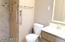 Remodeled shower for easier access!