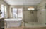 Master Walk-in Tile Shower and Tub