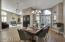 Entry, Dining Room & Living Room