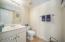 Half bath or powder room downstairs