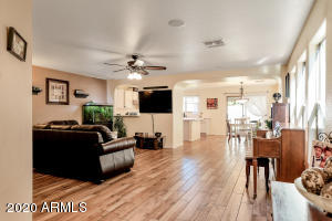 Classic modern look. Exquisite hardwood plank tile flooring.