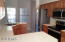 Open Kitchen with recent stainless steel appliances!