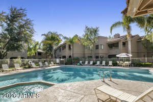 4 Heated Community Pools & Spas (pool #4 not pictured)