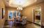 Dining Room with doors to Patio