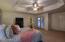 Master Bedroom with doors to Patio