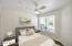 Guest room staged