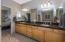Double vanities / granite counters