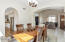 Formal Dining to Kitchen