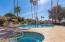 Community heated pool/spa included in HOA fees.
