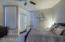 "Master Suite with ""Room Darkening"" window treatments."