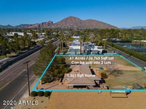 Broadside View of Camelback Mountain