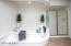 Grand, deep soaking tub and separate shower