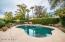 When the temps heat up, cool off in your beautiful pebble tec, salt water pool