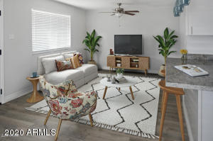 This is virtual staging for you to better visualize!