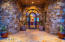 Custom glass and iron entry door