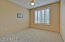 3rd Bedroom has a large shuttered window making it open and airy