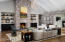 Beautiful brick enhancement in Living Area