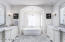 Master Bathroom/double vanities and beautiful tub