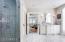 Enclosed shower Master Bathroom