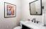 1/2 Bath in Office