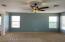 new paint, ceiling fan