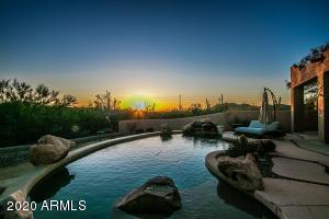 sunset view Backyard