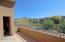 Master Bedroom Balcony Provides Privacy and Beautiful Mountain Views.