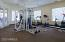 The Fitness Center is Well Equipped and Open to all Residents