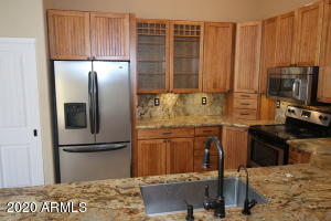 Upgraded kitchen, counter depth Stainless Steal Frig